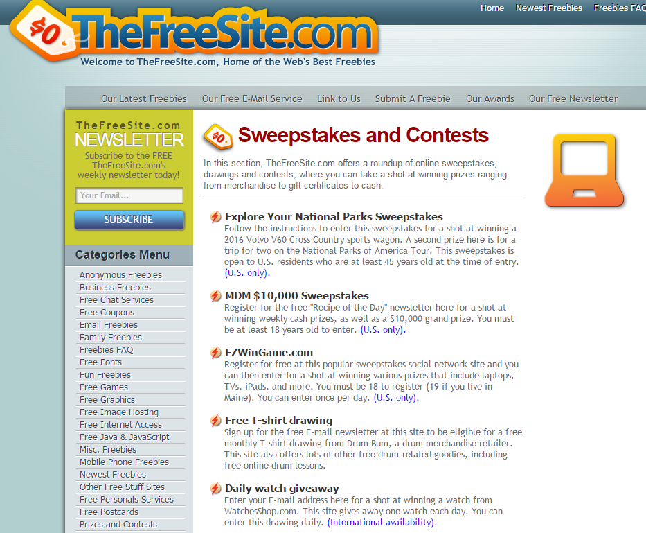 101 websites to submit and promote Online Contests - UpViral