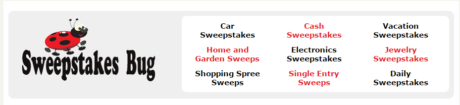 sweepstakes bug