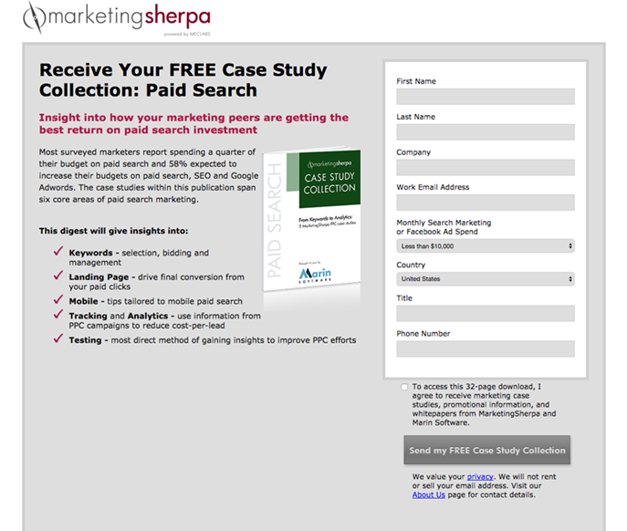 lead magnet case study