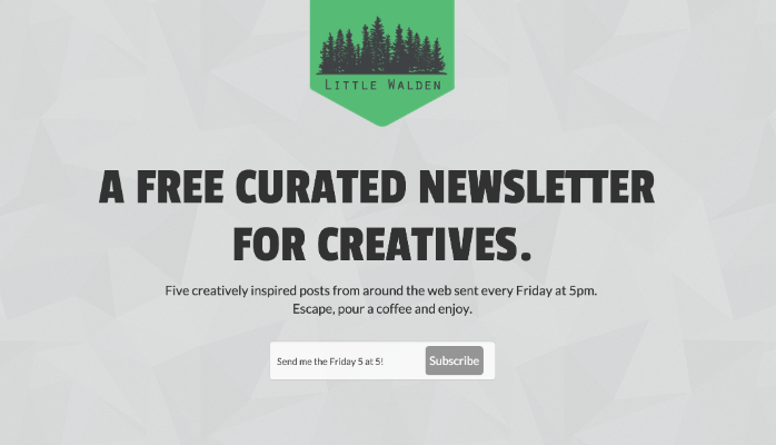 lead magnet curated newsletter