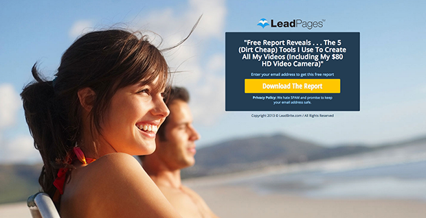 lead magnet free report