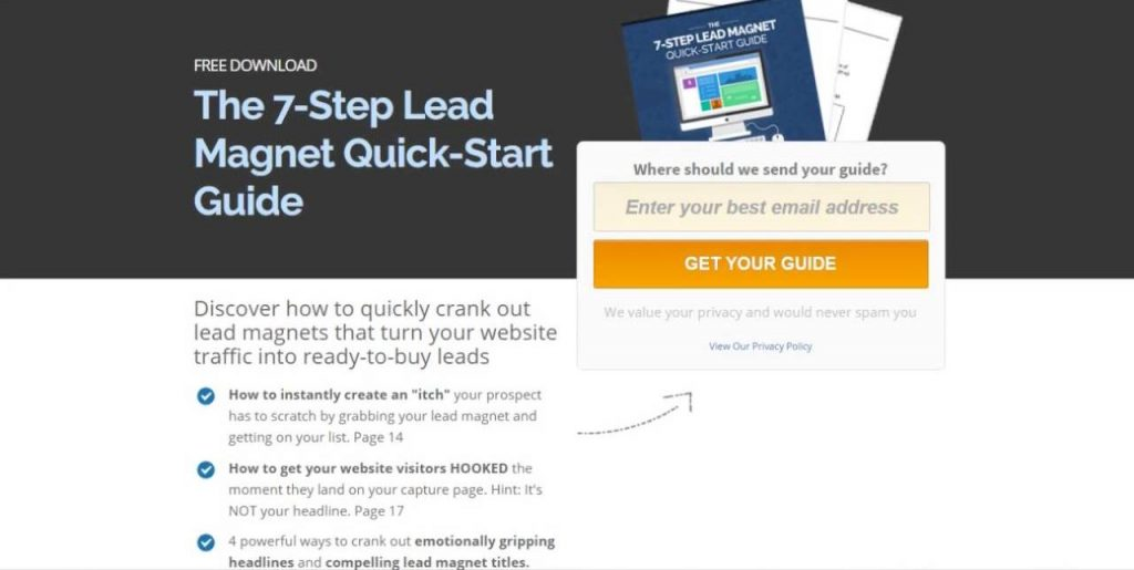 lead magnet quick start guide